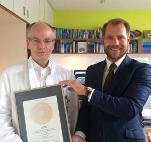 Prof. Vogl Siegelübergabe