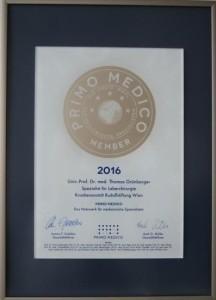 PRIMO MEDICO - Siegel 2016 - Prof. Grünberger