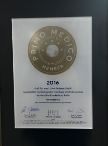 PRIMO MEDICO Siegel 2016 - Prof. Dr. med. Ulrich - Berlin