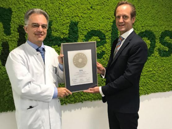 Dr. med. Wolfgang Gesierich –  Mitgliedschaft im PRIMO MEDICO  Netzwerk bestätigt