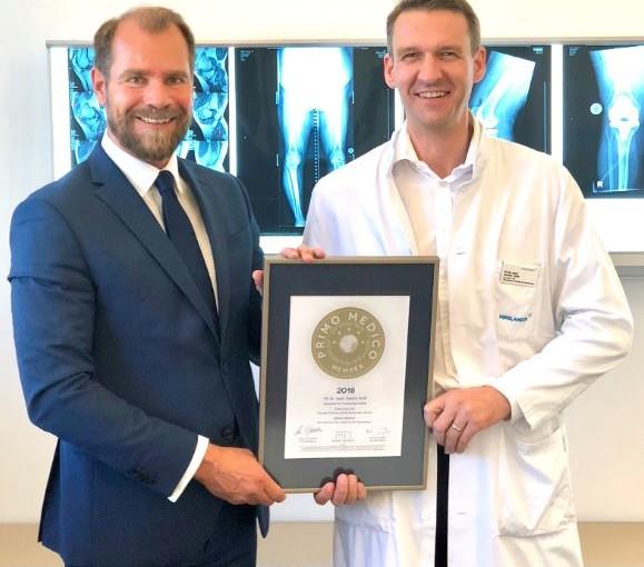 PD Dr. med. Sandro Kohl – Mitgliedschaft im PRIMO MEDICO Netzwerk bestätigt