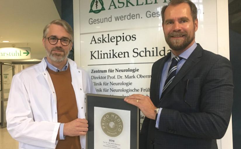 Prof. Dr. med. Mark Obermann – Mitgliedschaft im PRIMO MEDICO Netzwerk bestätigt