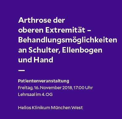 Flyer Arthrose München