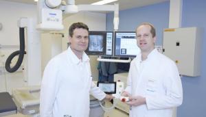link: PD Dr. Pascal Zehnder rechts: PD Dr. Frédéric Birkhäuser