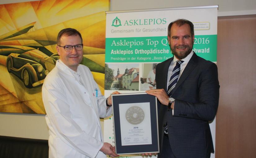 Dr. med. Thomas-Peter Ranke –  Mitgliedschaft im PRIMO MEDICO  Netzwerk bestätigt