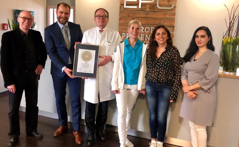 Prof. Dr. med. Uwe Nixdorff , F.E.S.C. –  Mitgliedschaft im PRIMO MEDICO  Netzwerk bestätigt