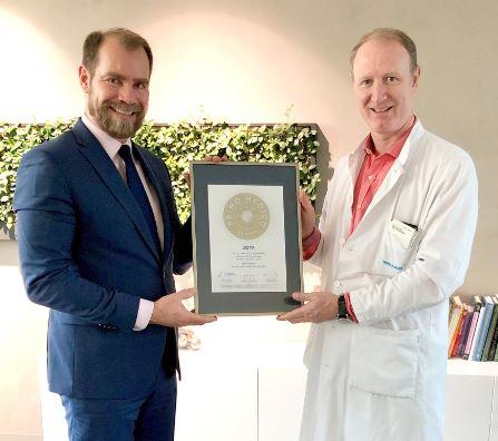 Prof. Dr. med. Jürg Grünenfelder –  Mitgliedschaft im PRIMO MEDICO  Netzwerk bestätigt