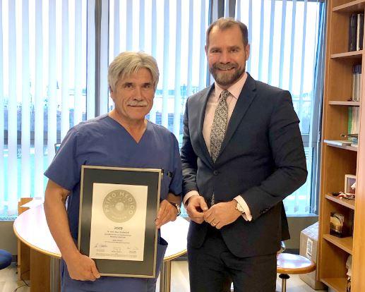 Dr. med. Peter Schäferhoff –  Mitgliedschaft im PRIMO MEDICO  Netzwerk bestätigt