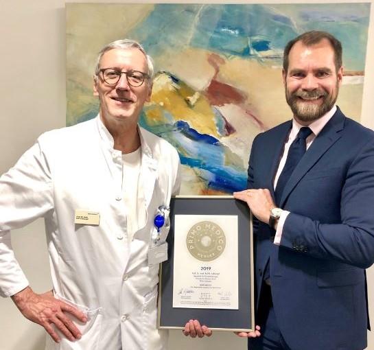 Prof. Dr. med. Rolf Schlumpf –  Mitgliedschaft im PRIMO MEDICO  Netzwerk bestätigt