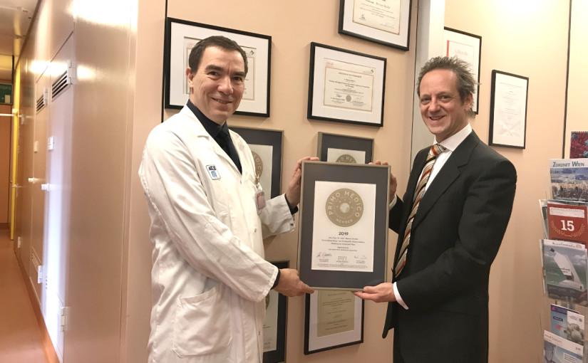 Univ.-Prof. Dr. med. Marcus Hacker –  Mitgliedschaft im PRIMO MEDICO  Netzwerk bestätigt