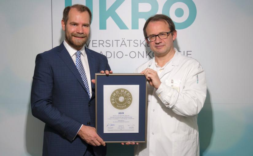 Prof. Dr. med. Daniel M. Aebersold –  Mitgliedschaft im PRIMO MEDICO  Netzwerk bestätigt