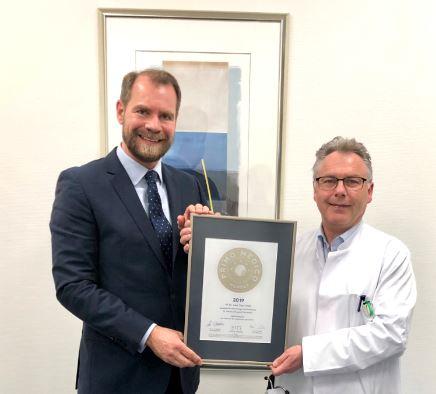 PD Dr. med. Peter Staib –  Mitgliedschaft im PRIMO MEDICO  Netzwerk bestätigt