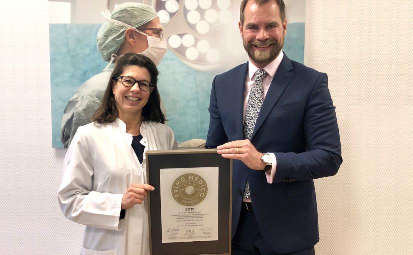Dr. med. Stefanie Buchen –  Mitgliedschaft im PRIMO MEDICO Netzwerk erneut bestätigt