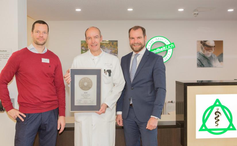 Dr. med. Jochen Schabram –  Mitgliedschaft im PRIMO MEDICO  Netzwerk erneut bestätigt