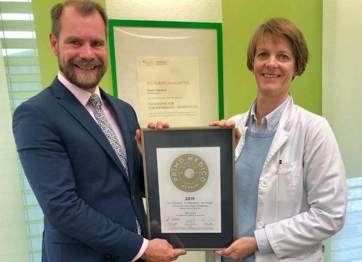 Hormon Zentrum Zürich –  Mitgliedschaft im PRIMO MEDICO  Netzwerk erneut bestätigt