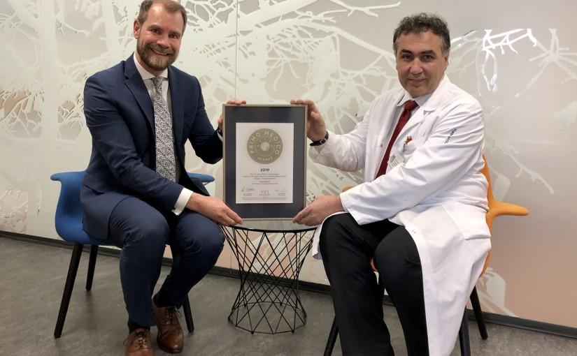 Prof. Dr. med. Mihai A. Constantinescu –  Mitgliedschaft im PRIMO MEDICO  Netzwerk erneut bestätigt