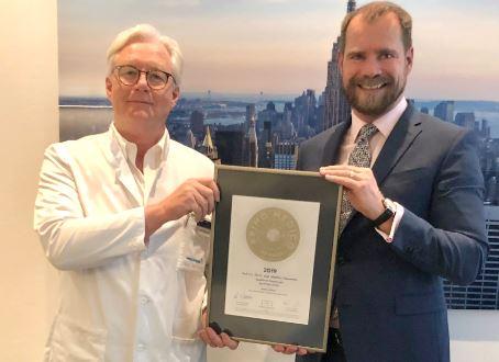 Prof. h.c. PD Dr. med.  Matthias Steinwachs –  Mitgliedschaft im PRIMO MEDICO  Netzwerk erneut bestätigt
