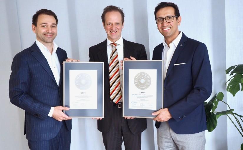 Dr. med. Daniel Lonic & PD Dr. med. Dr. med. dent. Denys J. Loeffelbein –  Mitgliedschaft im PRIMO MEDICO  Netzwerk erneut bestätigt