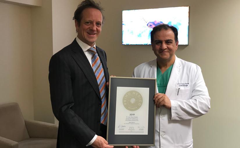 Dr. med. Reza Ghotbi –  Mitgliedschaft im PRIMO MEDICO  Netzwerk erneut bestätigt