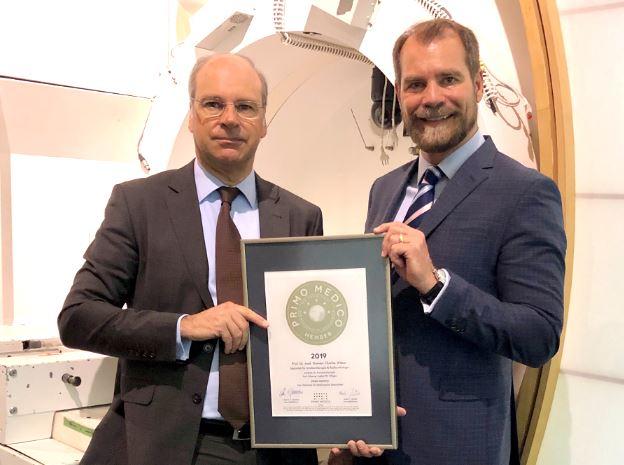 Prof. Dr. med. Damien C. Weber –  Mitgliedschaft im PRIMO MEDICO  Netzwerk erneut bestätigt