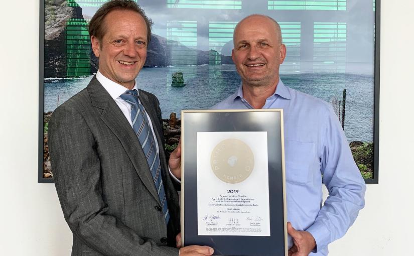 Dr. med. Matthias Bloechle –  Mitgliedschaft im PRIMO MEDICO  Netzwerk erneut bestätigt