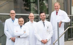 Team erste Aortic Unit Europas