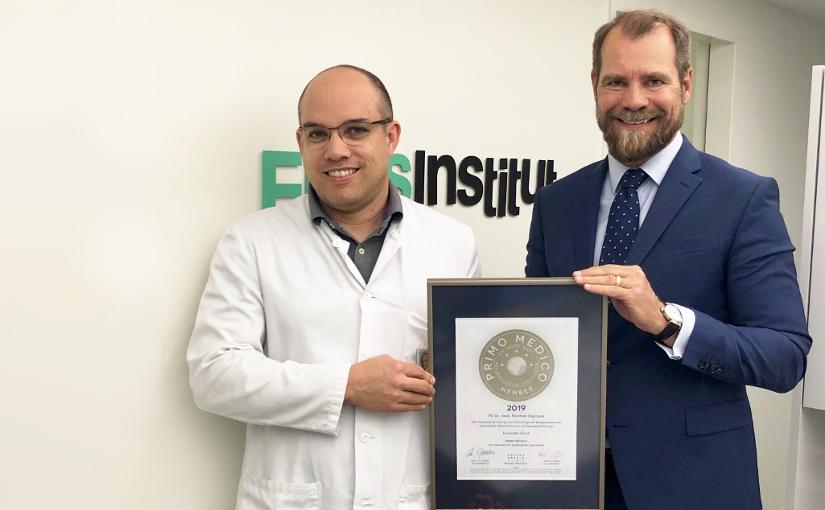 PD Dr. med. Norman Espinosa –  Mitgliedschaft im PRIMO MEDICO  Netzwerk bestätigt