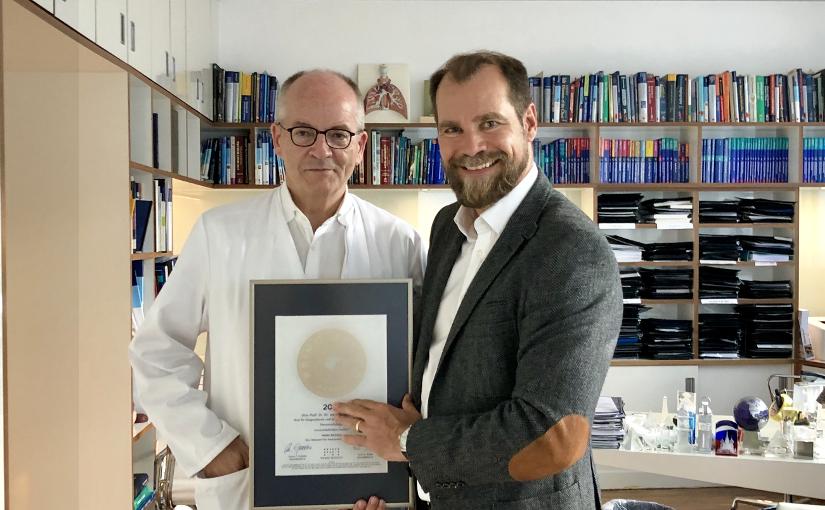 Univ.-Prof. Dr. Dr. med. Thomas J. Vogl  Mitgliedschaft im PRIMO MEDICO  erneut Netzwerk bestätigt