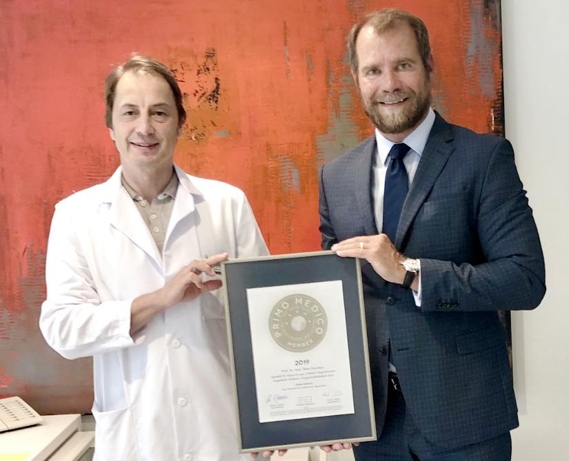Prof. Dr. med. Peter Szurman, Chefarzt der Augenklinik Sulzbach