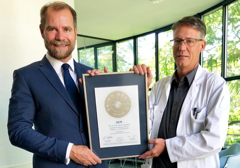 Siegelübergabe Prof. Dr. med. Adrian Ochsenbein