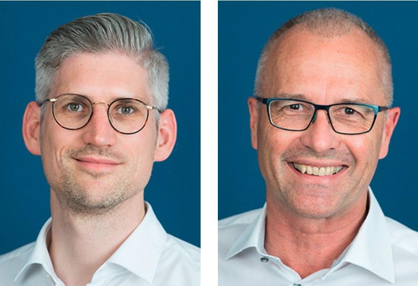 Die Kniespezialisten Bernhard Christen und Tilman Calliness - Portrait