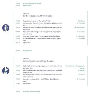 Symposium Programm für Mediziner