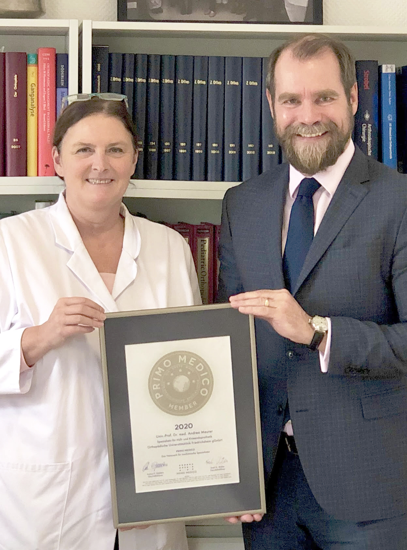Siegelübergabe Univ.-Prof. Dr. med. Andrea Meurer