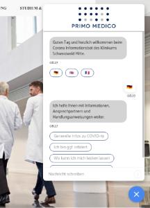 PRIMO MEDICO Chatbot