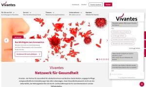 Berliner Klinikkonzern Vivantes hat den Chatbot bereits in Verwendung