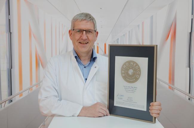 Auszeichnung für Prof. Kleine, Chefarzt für Thoraxchirurgie am Sana Klinikum Offenbach
