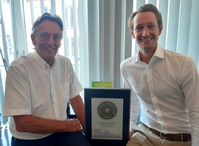 Dr. med. Tobias H. Neuhann, Raphael Neuhann Mitgliedschaft im PRIMO MEDICO Netzwerk bestätigt
