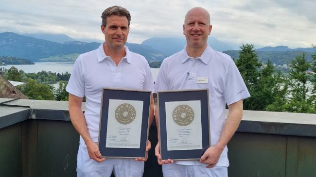 PD Dr. Frédéric Birkhäuser und PD Dr. Pascal Zehnder